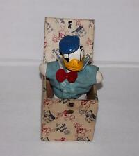 """DISNEY 1940's DONALD DUCK """"JACK-IN -THE-BOX"""" TOY-SCARCE HIGH GRADE"""