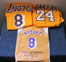 Kobe Bryant Jersey Retirement In Arena Giveaway 8 & 24 - 12/18/17 Two Jerseys!
