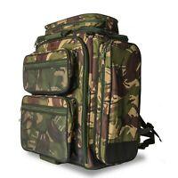 Saber 90lt Rucksack Camo Backpack Fishing Camping Bag Hiking Travel Carp Tackle