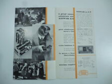 Zeiss Ikon. Nettar 1:6,3. Apparecchi di alta classe...Pieghevole pubblicit. 1933