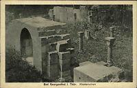 Bad Georgenthal Thüringen 1927 Klosterruinen Kloster Ruinen gelaufen frankiert