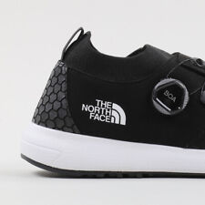 The North Face TNF Touji BOA Black White Men's size 9 Knit Hiking Trail Shoes