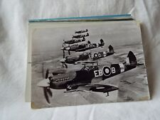 AIRCRAFT  POST CARD SUPERMARINE SPITFIRE F MARK X11's