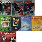 Jeu de voyage / Scrabble Jeu choisir : Cluedo, 4 gagne, RUMMIKUB, PHASE 10