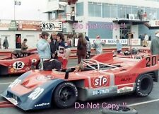 Jo Siffert STP Porsche 917/10 Edmonton Can Am 1971 Photograph 1