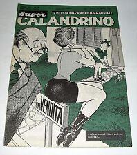super CALANDRINO il meglio del'umorismo mondiale n 18 ( 1967 )
