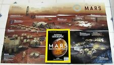 MARS RACE To ThE RED PLANET National GEOGRAPHIC Free Poster LIVING ON MARS TV Se