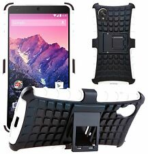 Shock Proof Heavy Duty Tough Armour Hard Stand Case Cover For LG Google Nexus 5