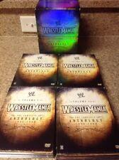 WWE - Wrestlemania Anthology: Box Set (DVD,2005,20-Disc Set)Authentic US RELEASE