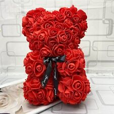 New Rose teddy bear valentine gift for girlfriend Valentine's Day roses Unique