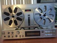 "AKAI GX-77 Top Line 7"" Model Open Reel deck include 2 AKAI R-77M Metal reels"