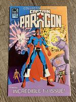 Captain Paragon #1 AC Comics 1983 Collectors Edition VF+