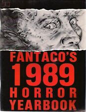 FANTACO'S 1989 HORROR YEARBOOK Comics, Alan Moore, interview with Charles Balun