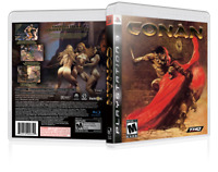 Conan - Custom Replacement PS3 Cover and Case. NO GAME!!