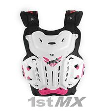 Leatt Womens ACU CE Approved Chest Motocross Race Armour 4.5 Jacki Pink Adults