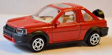 Land Rover Freelander Cabriolet Tipo LN 1997-2003 rosso rosso 1:43 Bburago