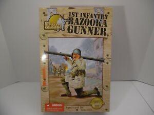"21st Century Ultimate Soldier WW2 Bazooka Gunner 1:6 12"" Figure Doll GI Joe"