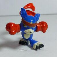 "2007 Digimon Digital Monsters 1.5"" Gaomon Mini PVC Figure Bandai"