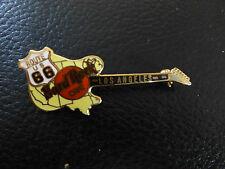 Hard rock cafe guitarra Los Angeles route 66