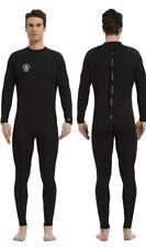Lemorecn Men's XLS 3/2mm Full Body Rear Zip Neoprene Wetsuit