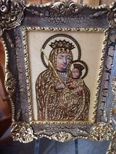 St.Mary Orthodox icon (Coptic, Russian, Greek) Antique Frame