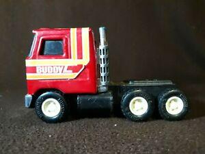 "Vintage Buddy L Mack Truck Japan Pressed Steel 10-1/2"" Long NO TRAILER"