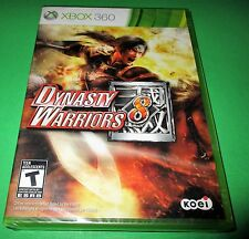 Dynasty Warriors 8 Microsoft Xbox 360 *Factory Sealed! *Free Shipping!