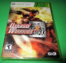 Dynasty Warriors 8 Microsoft Xbox 360 *Factory Sealed! *Free Shipping!