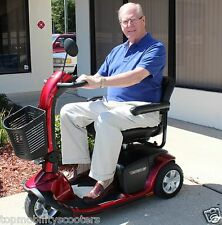 Pride Mobility VICTORY 10 Three-Wheel Electric Power Scooter Used Model SC610