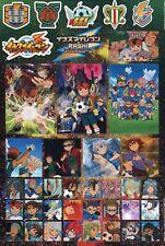 sticker promo Inazuma Eleven Endou Mamoru Goenji Shuya shirou Ichirouta anime