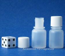 Mini Plastic Bottles 7ml / 1/4oz Sample Size For Lotion & Oil  Decanting Bottles
