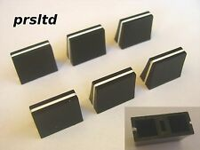 6 x Mixer Fader Knobs - for Allen & Heath Xone 92, 42, 22, 02, 3D, 4D, S2