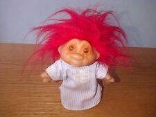 DAM TROLL Doll Norfin Sandman Sleepy Bed Time PJ's Pajamas Night Gown 1986