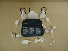 Angelcare Movement & Sound Monitor White/Blue 2 Parent Units AC201