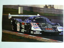 1989 Mercedes Group C Coupe Race Car Picture / Print / Poster RARE!! L@@K