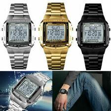 Reloj de Pulsera Reloj De Moda Relojes Deportivos Para Hombre SKMEI Alarma Digital LED Impermeable UK