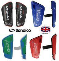 SONDICO Branded Football Shin Pads/Guards Boys/Junior Children's/Mens Slip in/on