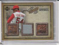 Ervin Santana Angels 2006 Upper Deck Artifacts Game-Used Jersey Card #108/325