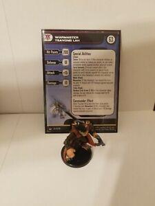 Star Wars Miniatures Warmaster Tsavong Lah Yuuzhan Vong Team Builder