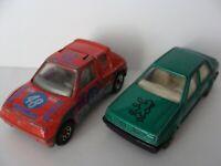 Konvolut Matchbox 1984 Peugeot 205 Turbo 1:55 Rarität / McToy Peugeot 309 grün