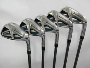 TaylorMade Iron Set SIM MAX Stiff TENSEI BLUE TM60 (5 pieces)