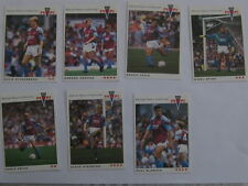 Panini 92 Cards ASTON VILLA x 7