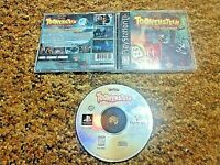Sony PlayStation 1 PS1 PSOne CIB Complete Tested Toonenstein Dare to Scare!