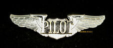 PILOT WING PIN UP PRIVATE SOLO SPORT FULL SIZE GIFT AIRPLANE JET HELICOPTER