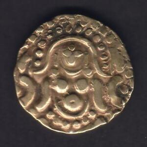 India - Madhya Pradesh. (c1015-41) Gold Stater..  Gangeyadeva.. VF - SCARCE