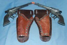 "Schmidt Roy Rogers RR-34 *RARE* Incise Name Cao Gun Set W/Holsters ""NO RESERVE"""