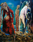 MAX ERNST The Antipope (1942) (60x46.5cm), CANVAS, POSTER FREE P&P