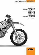 KTM Service Workshop Shop Repair Manual Book 2015 350 EXC‑F