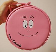 korea 3CE Stylenanda x BARBAPAPA Makeup  Pink Color Pouch Bag