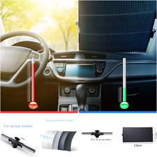 Car SUV Windshield Sunshade Side Window Sun Shade Curtain UV Protection 130x46cm